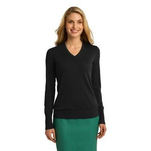 Port Authority® Ladies' V-Neck Sweater