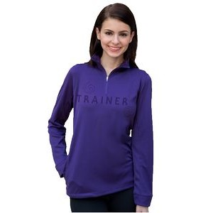 Women's Vansport™ Mesh 1/4-Zip Tech Pullover Sweater
