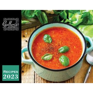 Galleria Wall Calendar 2020 Recipes