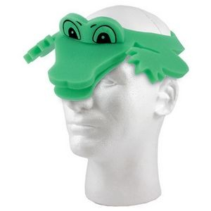 Alligator Foam Visor