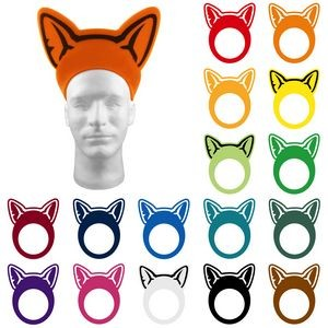 Animal Ears Pullover Visor